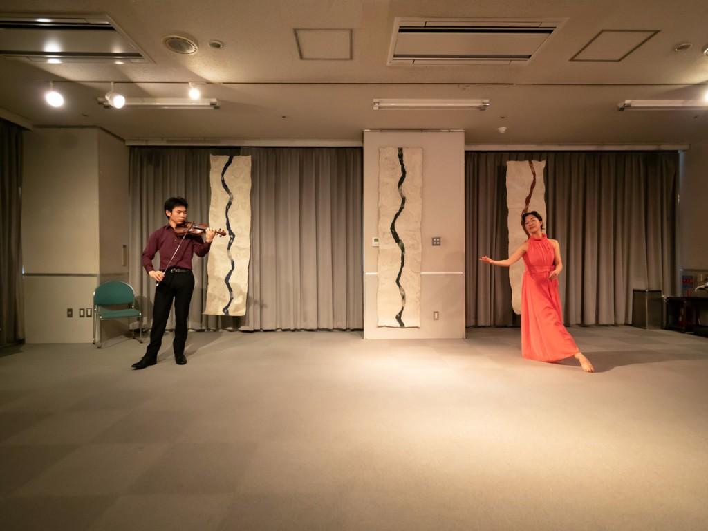村松明美 + 嶋田雄紀(ヴァイオリン)