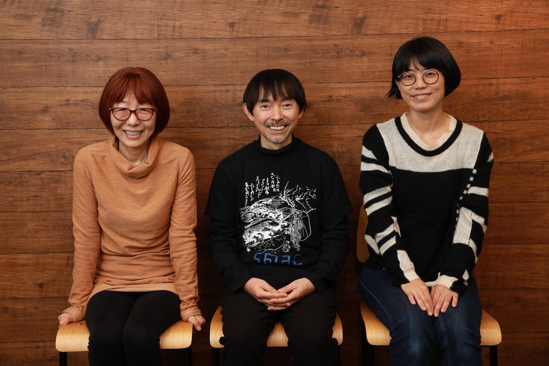 (左から)佐藤まいみ、宮城 聰、中村 茜